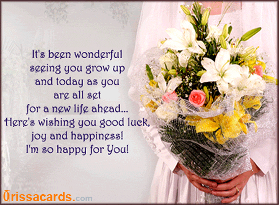birthday wishes greetings. Wedding Wishes Greetings: