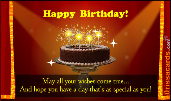happy birthday greetings in advance. happy birthday greetings in
